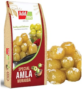 Add me Amla Big King and Soft Murabba Vacuum Packed Without Sugar Syrup Organic Candy (1kg Large)