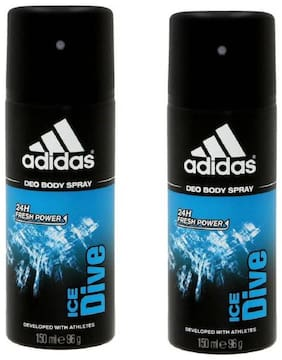 Adidas Deodrants(Ice Dive)(96gm each)(Pack of 2)