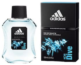 Adidas Natural Body Spray & Fragrance Booster - Ice Dive  Developed With Athletes 100 ml
