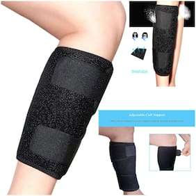 Adjustable Knee Thigh Calf Brace Support Brace Knee Pain  Relief  Arthritis  Gym  Sports Exercise   Running  Injuries Lower Knee Cap Pain Shin Splint Compression Wrap Leg Support