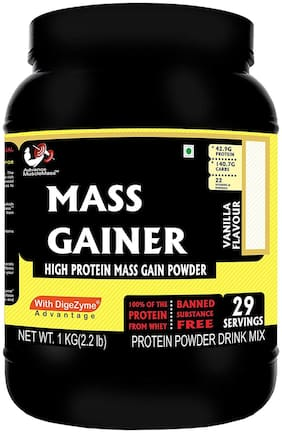 Advance MuscleMass Mass Gainer with digestive enzymes