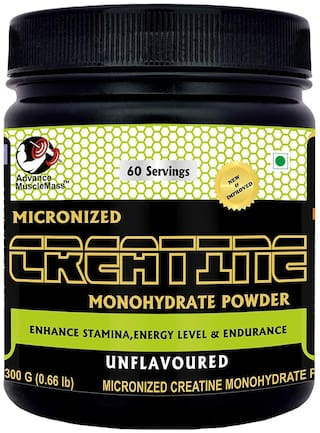 Advance MuscleMass Creatine (Unflavoured;300 gm)