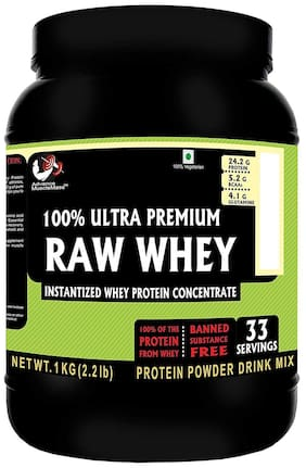 Advance MuscleMass Whey Protein (Unflavoured/Raw;1 kg)