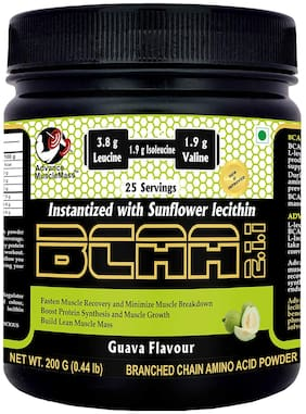 Advance MuscleMass BCAA 200 GM (Guava;200 gm)