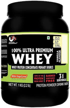 Advance MuscleMass Whey Protein with digestive enzymes