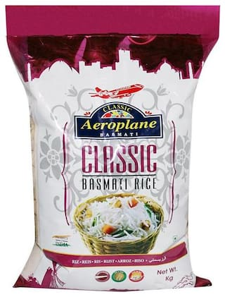 Aeroplane Classic Steam Rice 5Kg Pack Of 2