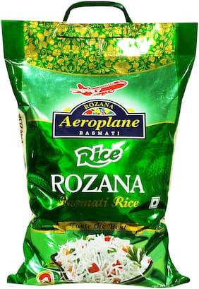 Aeroplane Rozana Basmati Rice Green 5 kg (Pack Of 1)