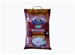 Aeroplane Rozana Basmati Rice 1Kg Pack Of 5