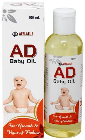 Afflatus AD Baby Herbal Oil with Vitamin ADE 100 ml