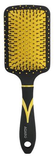 AGARO Breeze Paddle Hairbrush - Yellow 1 pc