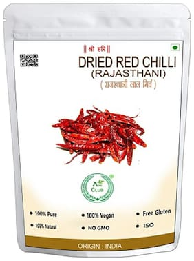 Agri Club Red Chilli Whole Spices 200 g