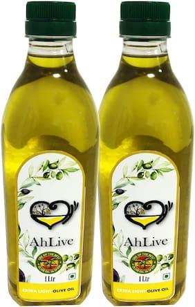 Ahlive Extra Light Olive Oil - 1 L Pack Of 2