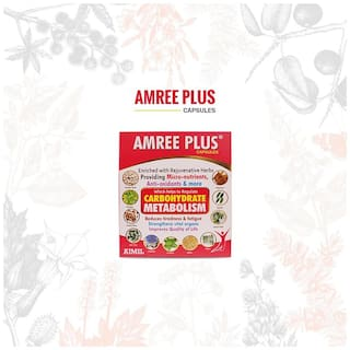 Aimil Amree Plus Capsules 20'S (Pack of 1)