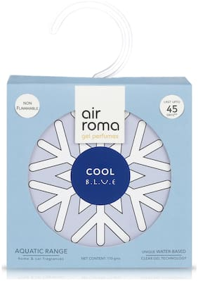 AIR-ROMA Cool Blue Gel Air Freshener 110 gm