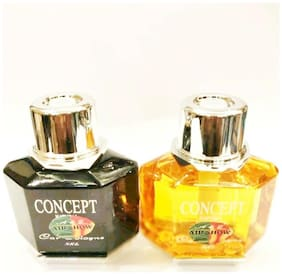 Air show Concept Car Perfume Yellow & Black (Pack of 2)