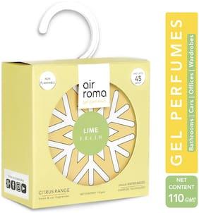 AirRoma Lime Fresh Citrus Gel Air Freshener 110g