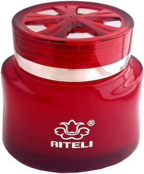 Aiteli EMPEROR Oil based 'A' Grade Gel Car Air Freshener , Premium Car Perfume , Elegent Design Rich & Long Lasting Fragrance: RED , ROSE Fragrance 120 g