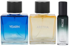 Ajmal Ascend & Neea EDP each 100 ml & Prose EDP 20 ml Pack of 3  for Men & Women