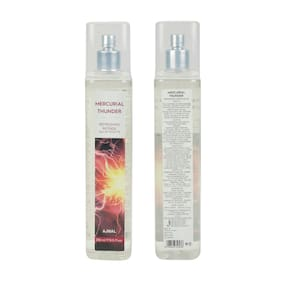 Ajmal Mercurial Thunder Eau De Toilette Oriental Perfume 250ml Party Wear for Unisex