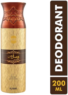 Ajmal Wisal Dhabab Perfume Deodarant 200ml for men