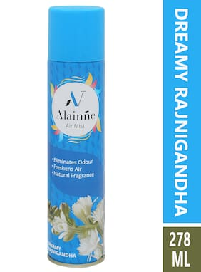 Alainne Air Mist Dreamy Rajnigandha Air Freshner Spray 278ml