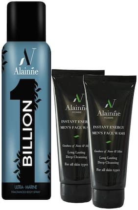 Alainne One Billion Combo For Men (Set of 3)
