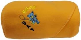 alamodey Hooded Crib Baby Blanket Peach (Pack of 1)