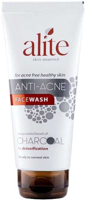 alite Anti-Acne Facewash with Charcoal 70g Pack of 6 for acne free healthy skin