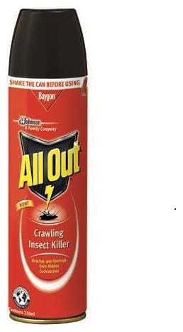 All Out Crawling Insect Killer 250 ml