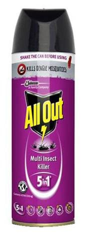 All Out Multi Insect Killer 5 In 1 425 Ml