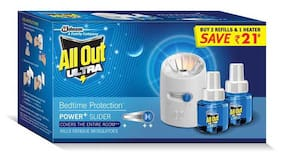 All Out Power+ Slider 2 Refill & Machine Value Pack