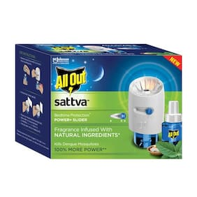 All Out Sattva - Power + Refill Combo 118.0 gm
