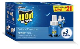 All Out Ultra Refill Saver Pack 45 ml