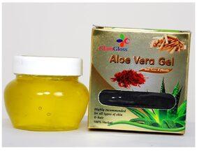 Aloe Vera Gel with Kesar and chandan(Pack of 2)