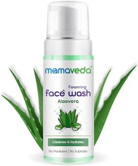 Mamaveda Aloevera Foaming Face Wash