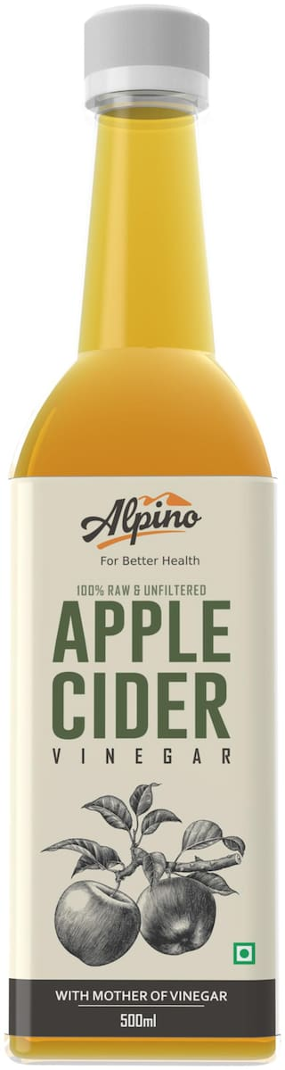 Alpino Apple Cider Vinegar 100% Raw & Unfiltered with Mother 500 ml
