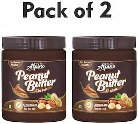 Alpino Chocolate Peanut Butter 2kg (1kg Pack Of 2)