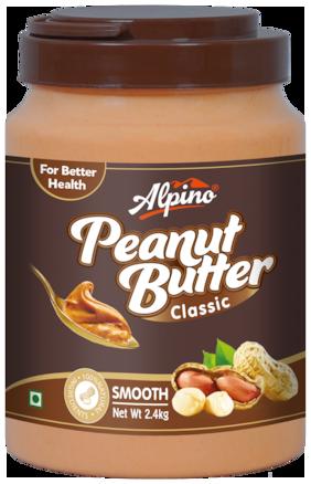 Alpino Classic Peanut Butter Smooth 2.4 kg