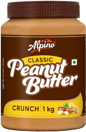 Alpino Crunch Peanut Butter 1kg