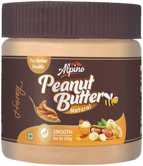 Alpino Natural Honey Peanut Butter Smooth 250g
