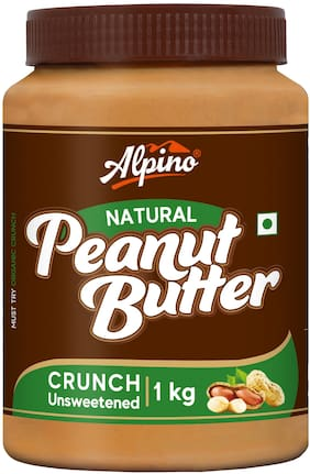 Alpino Natural Peanut Butter Crunch 1kg