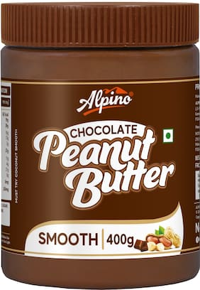Alpino Peanut Butter Chocolate 400g (pcak of 1)