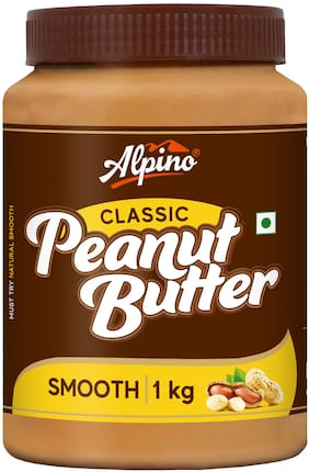 Alpino Smooth Peanut Butter 1kg