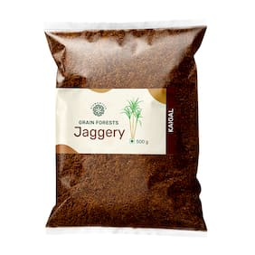 ALSWAMITRA Grain Forests Natural Jaggery Powder-500g