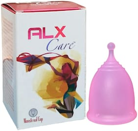 ALX Care Reusable Sport Menstrual Cup Size S Pink