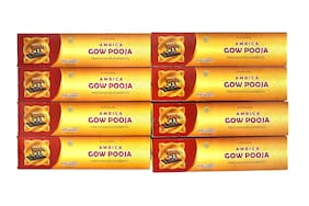 Ambica Cow Pooja Agarbatti 70 g (Pack Of 8)