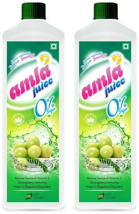 AMLA JUCE  (Sugar Free)-1 Ltr. (Pack of 2)