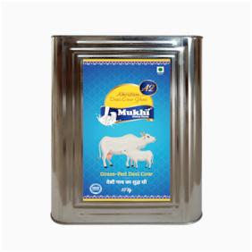 Amrutam Mukhia A2 Desi Cow Ghee | Certified A2 Ghee | Pure Desi ghee | Natural with High Nutritional Value Direct Form Farm. (15 Kg)