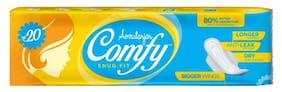 Amrutanjan Sanitary Pads - Comfy Snug Fit 6 pcs