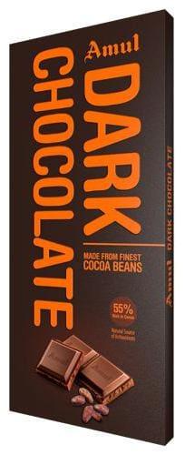 Amul Dark Chocolate 55% Rich In Cocoa 150 g